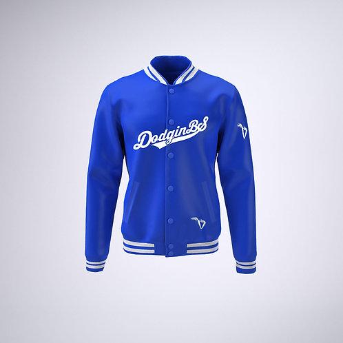 Womens #iwakeibake Satin Baseball Jacket