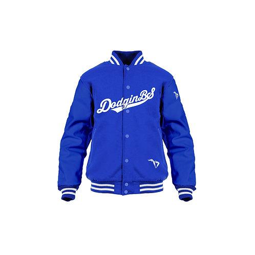 #iwakeibake Satin Baseball Jacket
