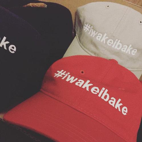 #iwakeibake  (dad hat style)