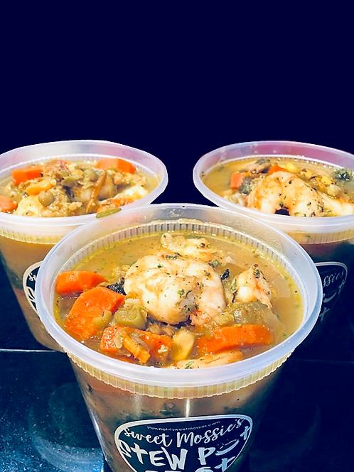 Jumbo Lump Crab & Shrimp Stew Pot