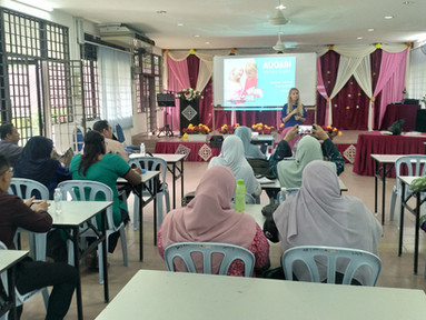 UPDATE OF ENGLISH LANGUAGE PROJECT IN PERAK PUBLIC SCHOOLS