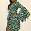 Thumbnail: Leila graphic African print dress