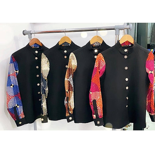 Amara African Print shirt