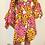 Thumbnail: Leila floral African print dress