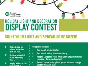 Enter the Holiday Light and Display Contest by December 1