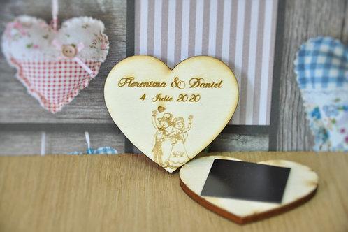 Magneţi personalizaţi- Happy couple