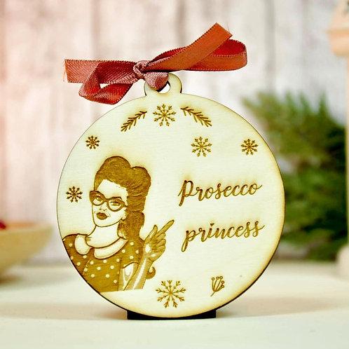 "Glob personalizat ""Prosecco princess"""