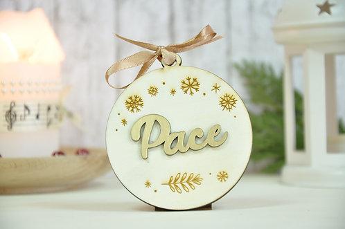 Glob personalizat auriu - Pace