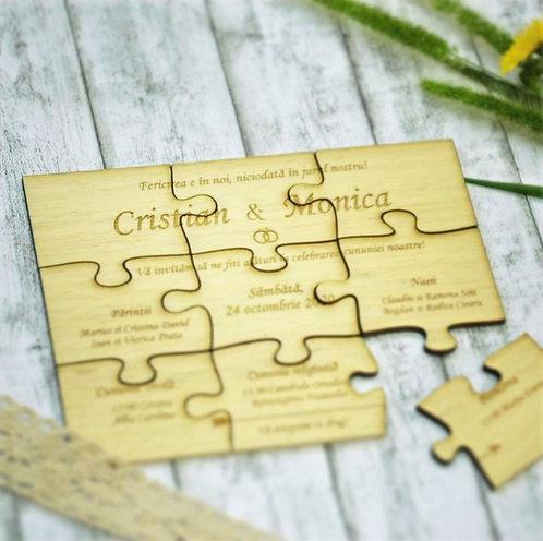 Invitatii puzzle
