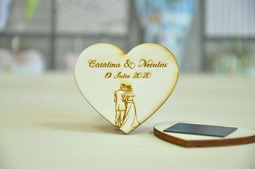 Magneţi personalizaţi- Romantic