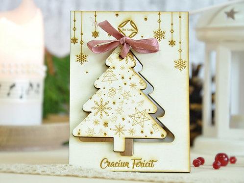 Ornament de Crăciun - brad