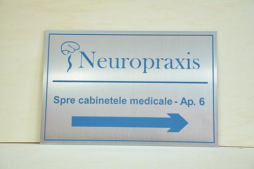 Placi indicatoare cabinet medical - 30 x 20 cm