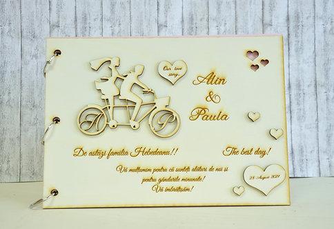 Album/Guestbook bicicletă