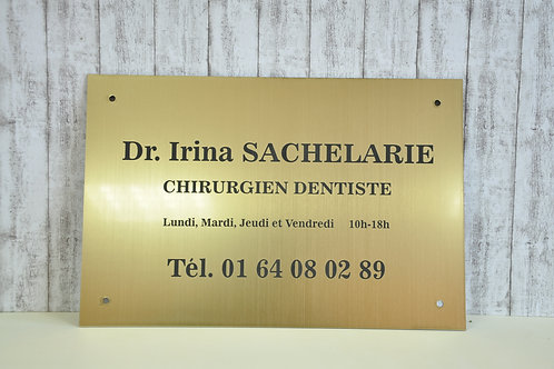 Placa indicatoare cabinet stomatologic - 40 x 30 cm