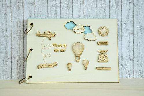 """Album foto/guestbook """"In the sky"""""""