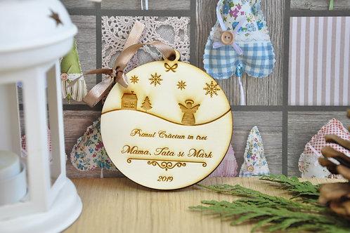 """Glob """"Primul Crăciun"""""""