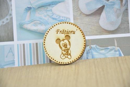 Insigne botez Mickey & Minnie