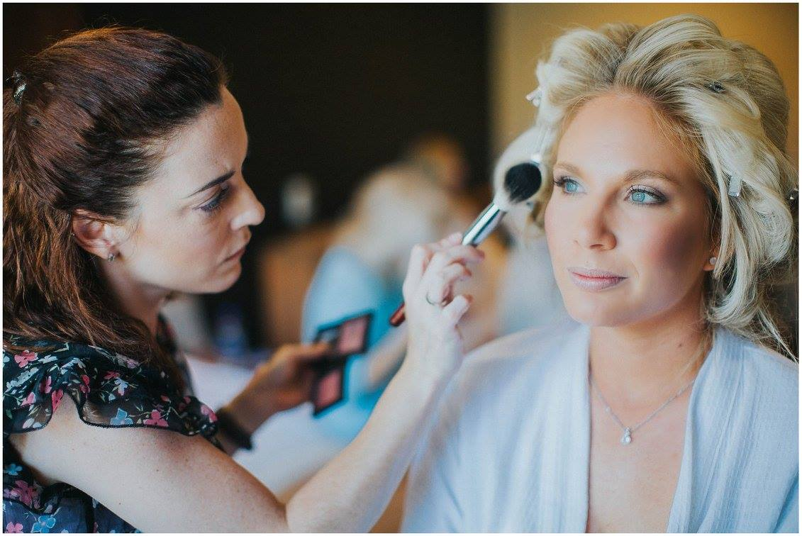 Bridal Makeup finishing touches