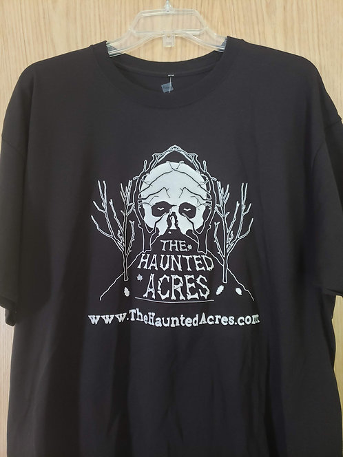 The Haunted Acres T-Shirt Black (no date)