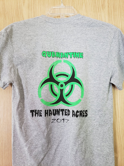 The Haunted Acres T-Shirt Sport Grey (2017)