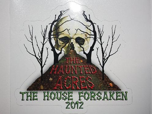 2012 The House Forsaken Stickers