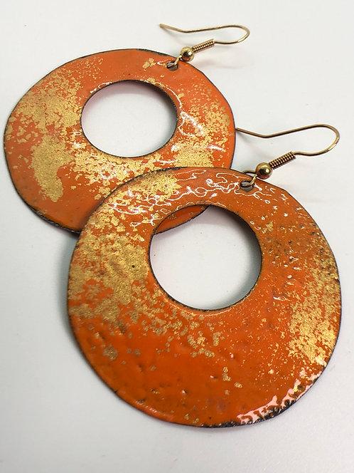 Orange Gold round