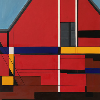 Red Cottage #2, 2017