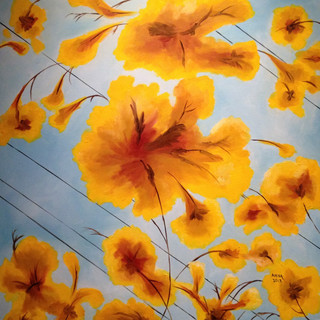 Yellow Flowers, 2012