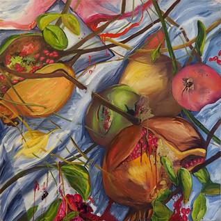 Pomegranates and Honeycombs