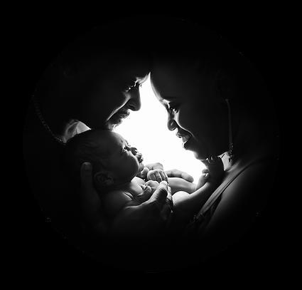 newborn family photo Newport