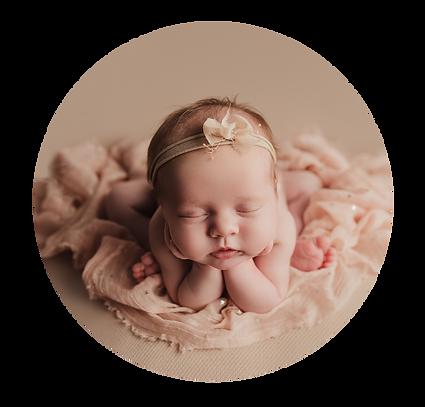 newborn baby girl photo Newport