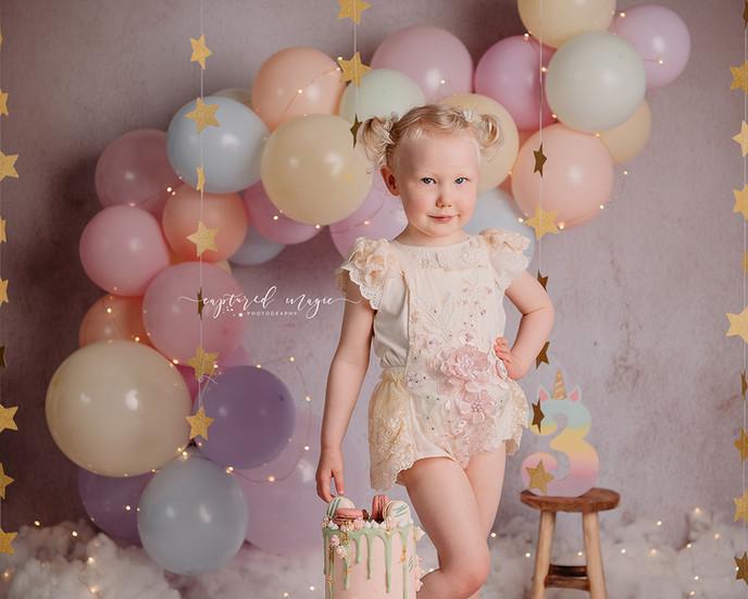Third birthday photos
