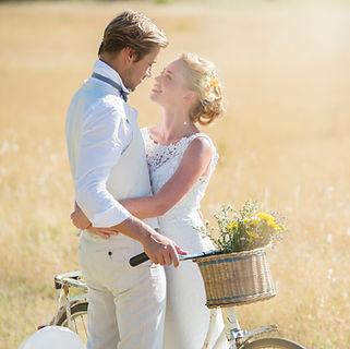 Séance de mariage en plein air