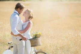 Hochzeit im Freien schießen