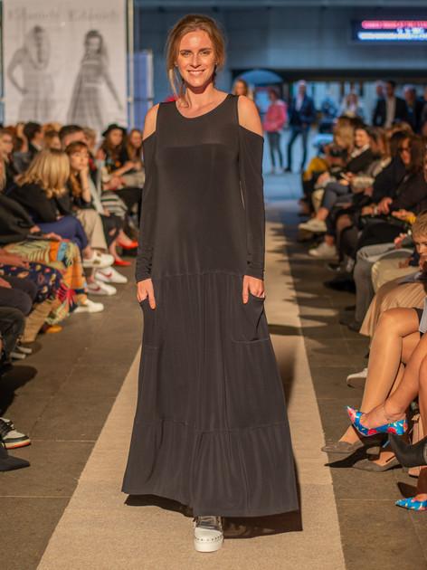 Šaty Daněk dlouhé černé 09219