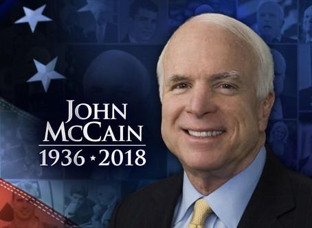 Senator John McCain Dies at the age of 81