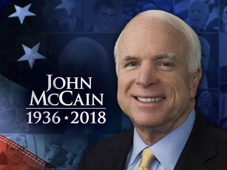 Senator John McCain Dies at the age of 81