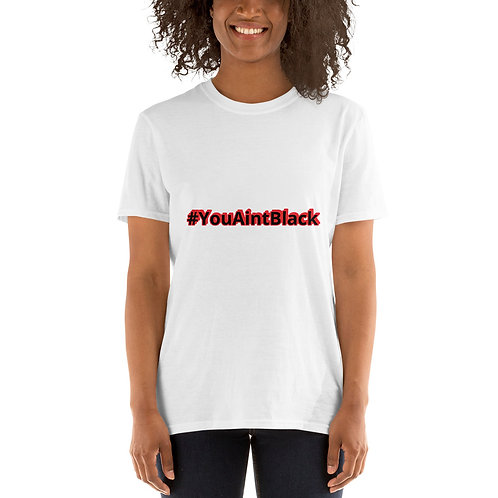Joe Biden #YouAintBlack Women Tshirts