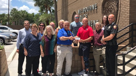 Families of the Shield Donates to MPF