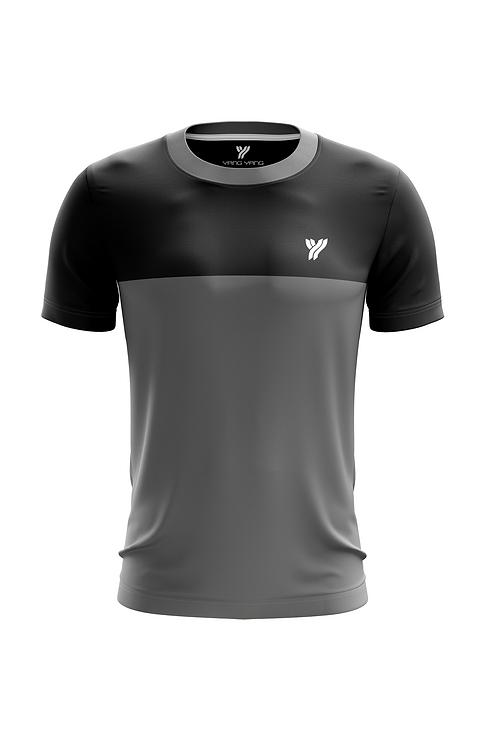 Футболка Young c17057 (Black/Grey)