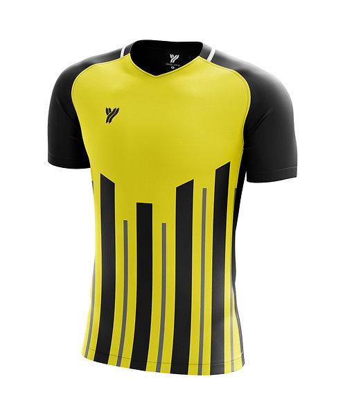 Футболка Young с18002 (Black/Yellow)