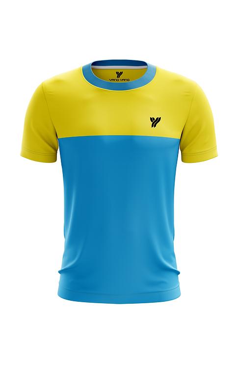 Футболка Young c17057 (Light Blue/Yellow)