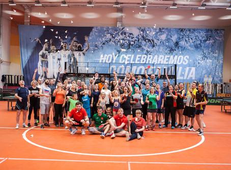 Сборы по настольному теннису 30 августа - 1 сентября в Бронницах