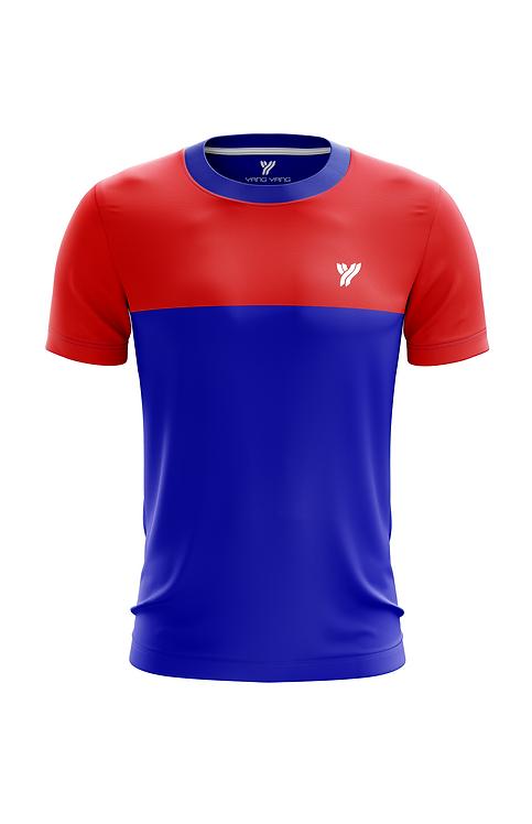 Футболка c17057 (Blue/Red)