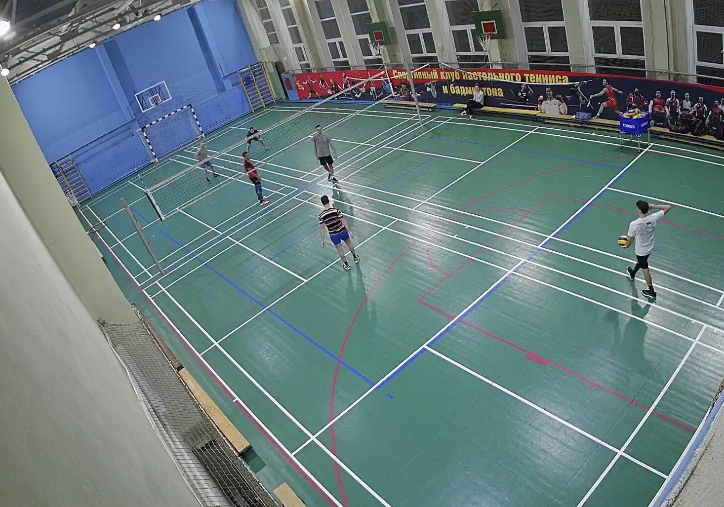 Волейбольная площадка на Серпуховской