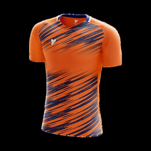 Футболка с18001 (Orange/Blue)