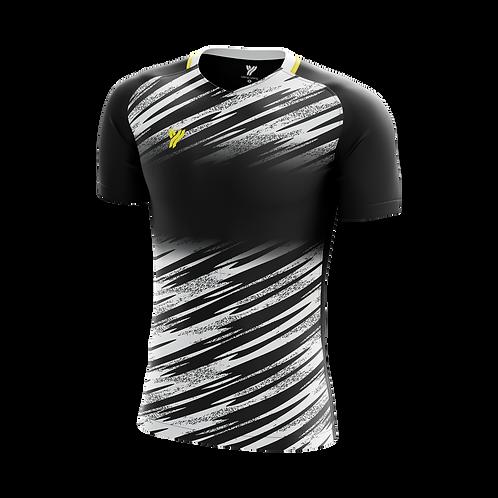 Футболка с18001 (Black/White)