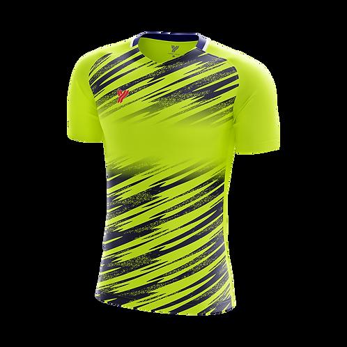 Футболка Young с18001 (Green/Black)