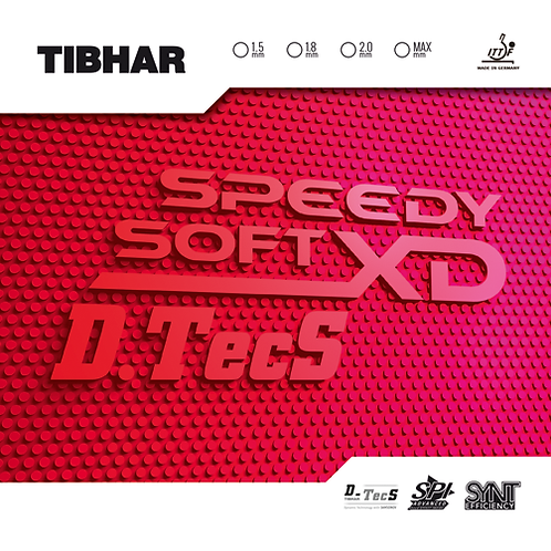 Накладка Tibhar Speedy Soft XD D.Tecs