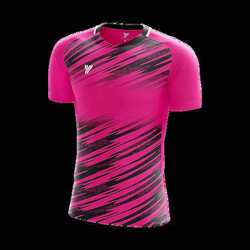 Футболка с18001 (Pink/Black)